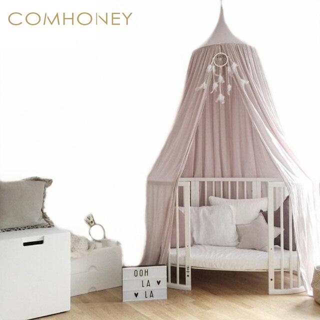 Baby Betthimmel Kinder Krippe Netting Palast Stil Kinderzimmer