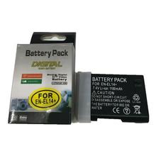EN-EL14 EN EL14a lithium batteries ENEL14 Digital camera battery For Nikon P7800 P7700 P7100,D3400 D5500 D5300 D5200 D3200 D3300