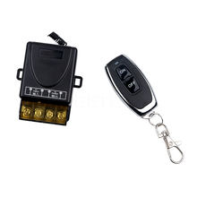 Kebidu 1pc AC 110V 240V 30A inalámbrico de relé de RF inteligente transmisor interruptor con mando a distancia + receptor, 433 MHz, controlador remoto