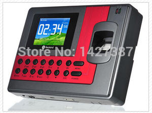 Realand A-C111 TCPIP Biometric Fingerprint Time Clock Recorder Attendance Employee Electronic English Punch Reader Machine