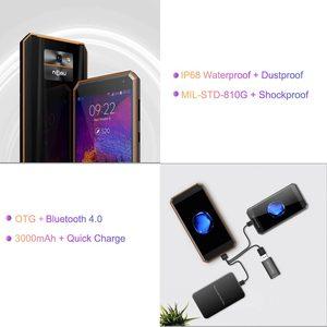 """Image 3 - Ban Đầu ĐTDĐ Nomu M6 Smartphone 5.0 """"HD Core 2GB + Tặng Kèm MTK6737T Android 6.0 13.0MP 1280X720 3000MAh IP68 Chống Nước Điện Thoại Di Động"""