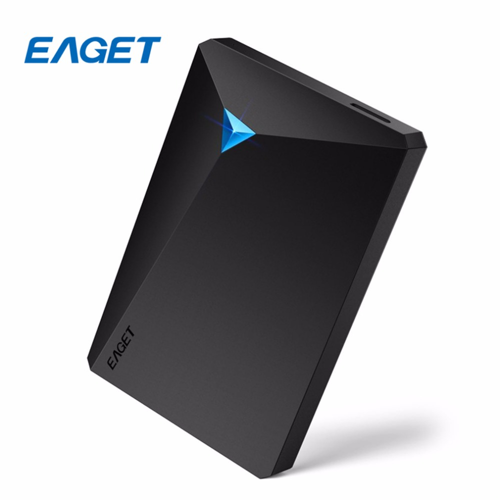 EAGET G20 Encryption External Hard Drive 25'' 500GB 1TB 2TB 3TB USB 30 HDD Type Leptop Hard Disk Ultra-fast Speed Shockproof