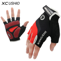 1 Pair Outdoor Sport Gloves Summer Cycling Bike Bicycle Riding Gym Fitness Half Finger Gloves Shockproof