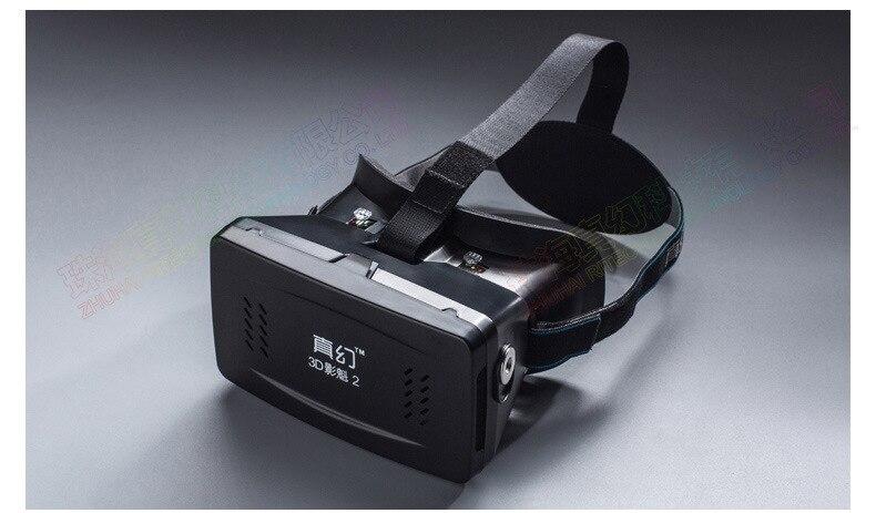 F17697 Ritech Ii Hoofd Mount Versie Vr Virtual Reality Bril Magneet Controle 3d Films Games Goggle Karton Voor 3.5- 6 Telefoon Fijn Vakmanschap