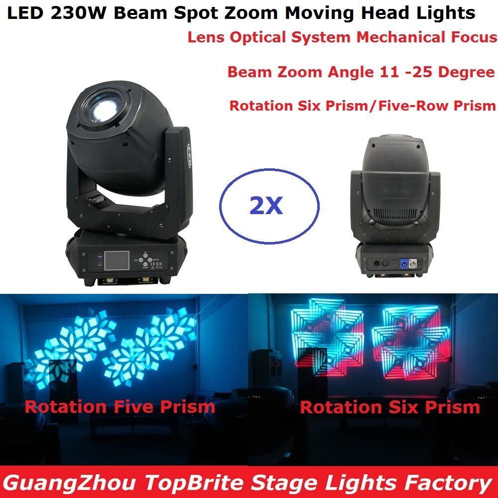 все цены на 2Pcs/Lot Newest 200W LED Beam Spot Wash Moving Head Lights Plus Zoom Features 6/18 Channsle DMX Dj Stage Disco Party Lights онлайн