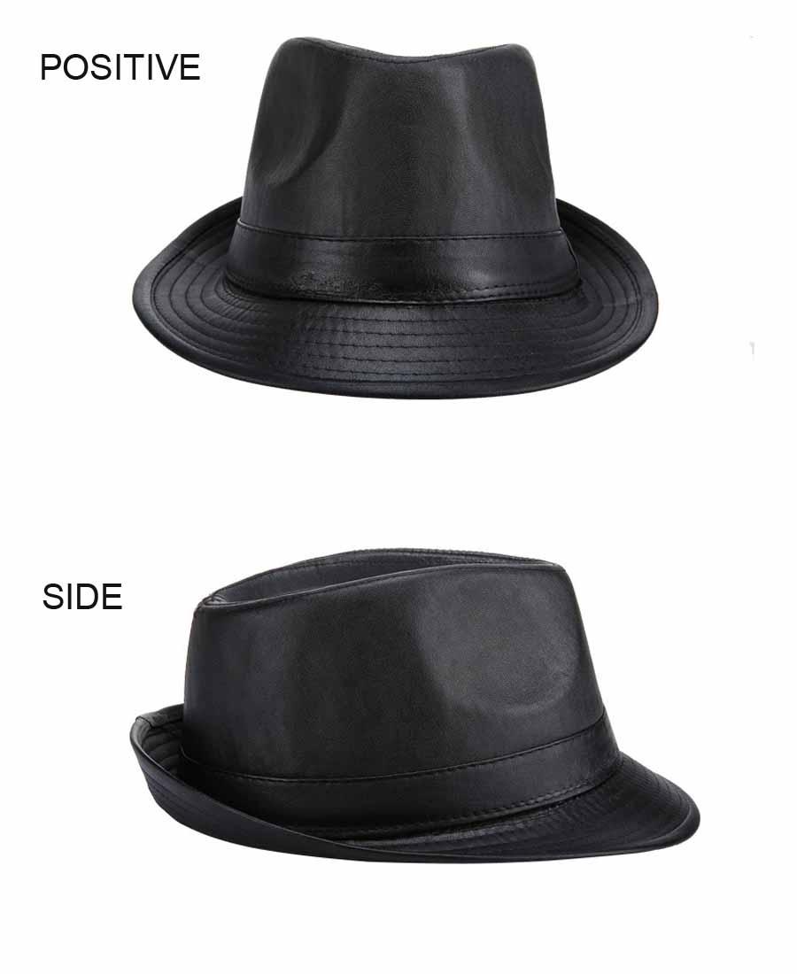 Detalle Comentarios Preguntas sobre FS nuevo negro PU de sombrero ... cb851550419