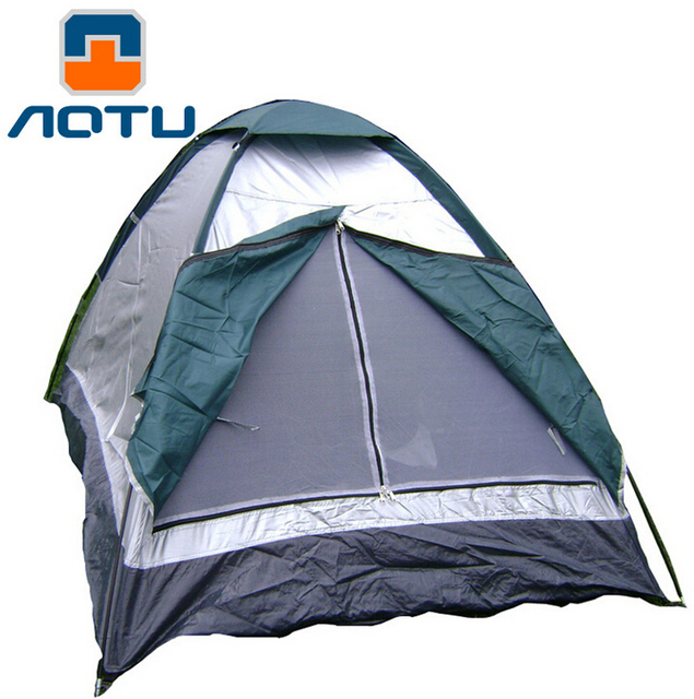 AOTU Durable C&ing Tents With Polyester Pongee for 2 Person Portable Outdoor Waterproof Winter C&ing Tents  sc 1 st  AliExpress.com & AOTU Durable Camping Tents With Polyester Pongee for 2 Person ...