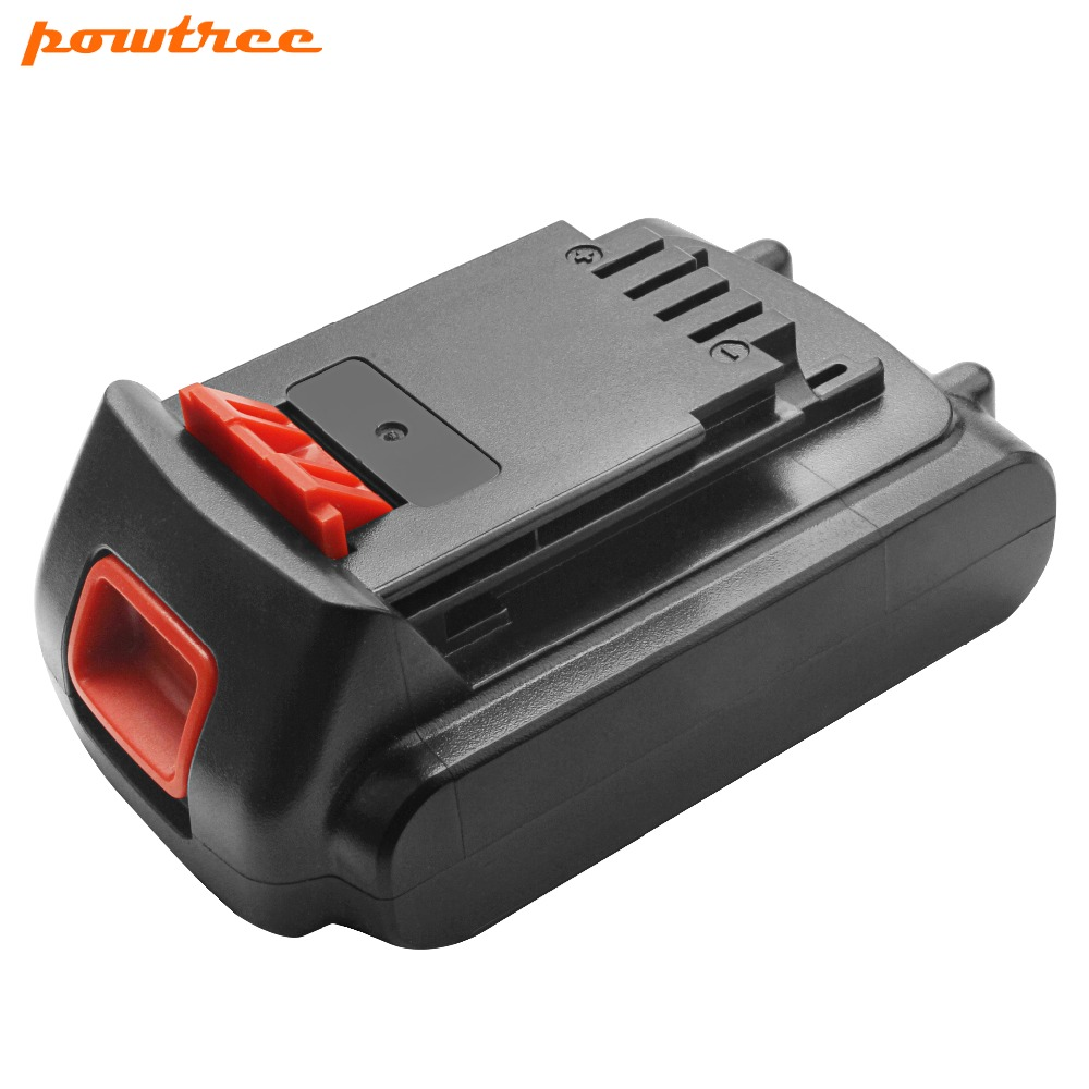 20V 2000mAh Li ion LBXR20 Rechargeable battery For Black&Decker LB20 LBX20 LST220 LSW20 SSL20SB SSL20SB 2 ASL186K ASL188K L10