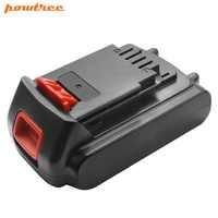 20 V 2000 mAh Li-ion LBXR20 batterie Rechargeable Pour Black & Decker LB20 LBX20 LST220 LSW20 SSL20SB SSL20SB-2 ASL186K ASL188K L10