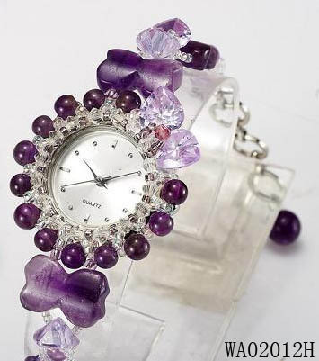Birthday Gift Girlfriend Gifts To Send Mom Amethyst Watch Bracelet Valentine Day Xq