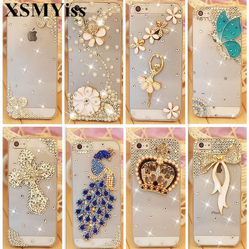 Bling Rhineston Case Cover For iPhone 11 Pro MAX X SE 2020 6 7 8 6S Plus XR Xs Max Diamond Soft Mobile phone Case Cover