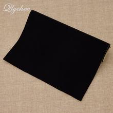 Luvas adesivas de veludo com 29*21cm, cor sólida, superfície macia, tecido de veludo, costura, feitas à mão, para sapatos, pano de pele