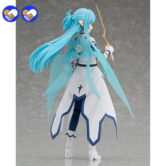 A toy A dream Anime Sword Art Online Figma 264 Yuuki Asuna Undine Special PVC Action Figure Collectible Model Toy 15cm 4