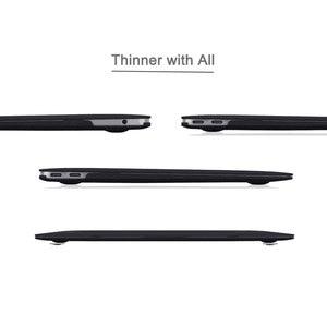 Image 5 - Чехол для MacBook Air 13 дюймов 2018 выпуска A1932, мягкий на ощупь легкий жесткий чехол для новой MacBook Air 13 дюймов с Touch ID