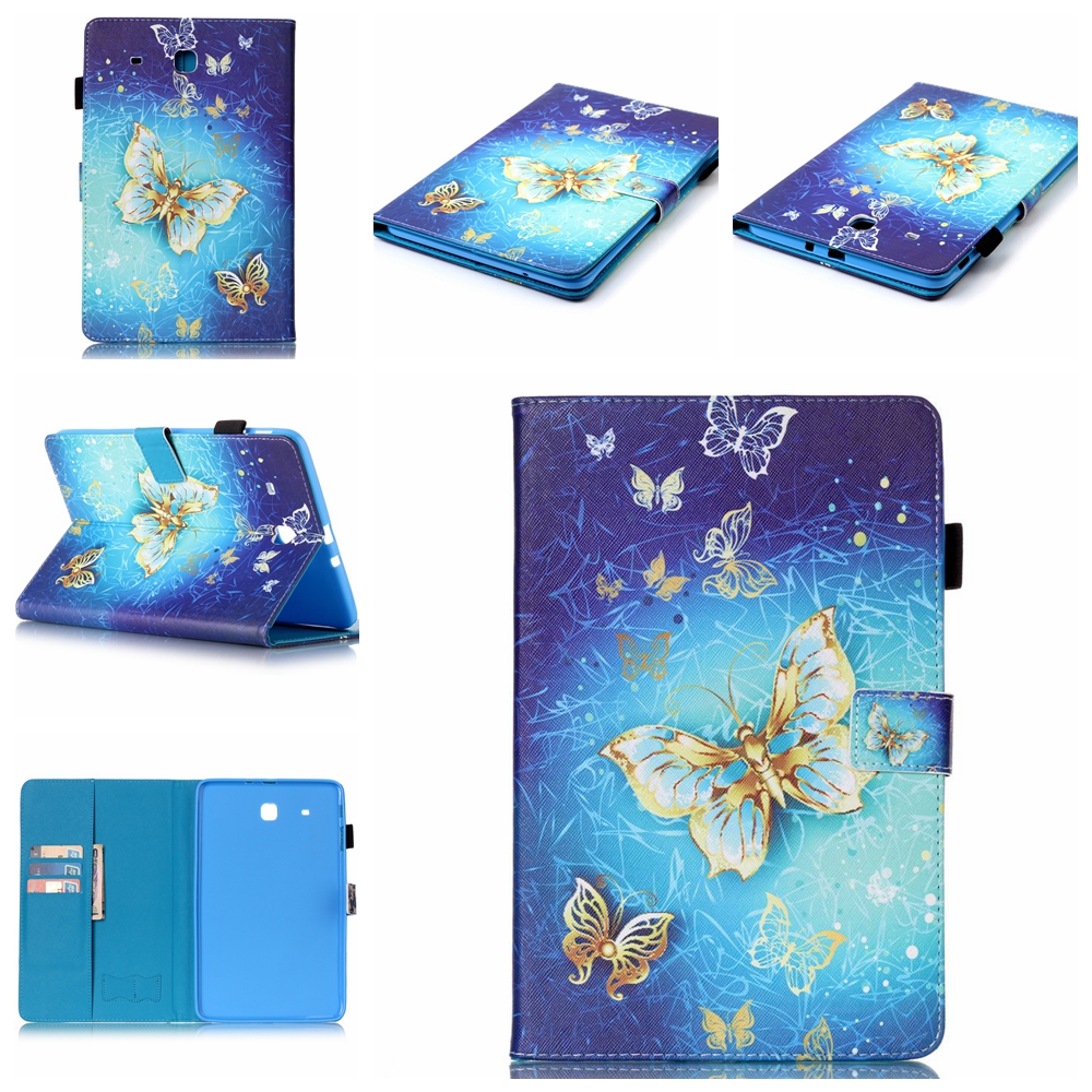 for samsung galaxy tab a a6 10 1 2016 t585 t580 t580n pu leather tablet stand case for samsung. Black Bedroom Furniture Sets. Home Design Ideas