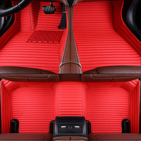 leather +Aviation carpet for Volvo c30 s60 s80 s90 v40 v50 v60 xc40 xc60 xc70 xc90 XC Classic Protected Car floor mats