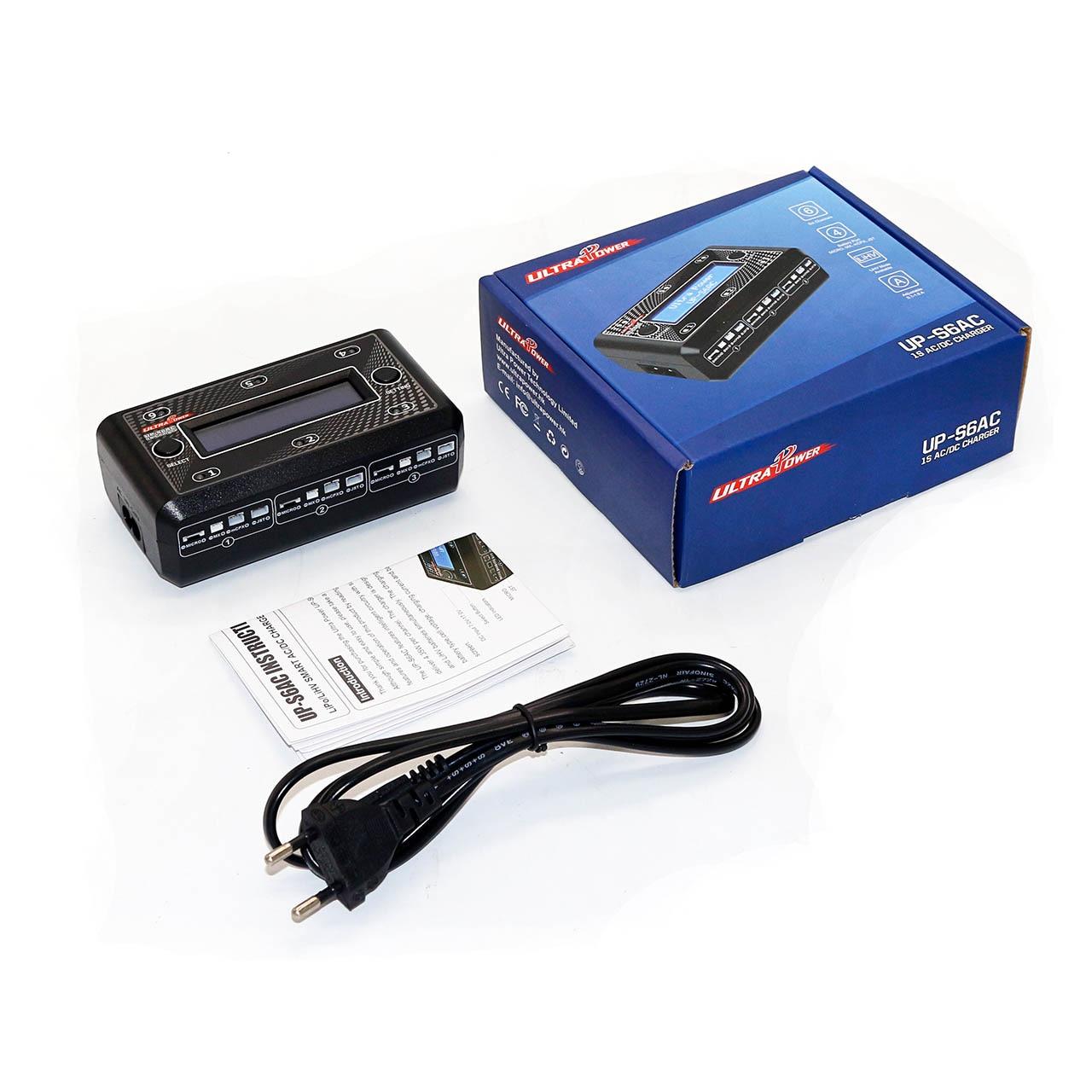 Image 4 - Emax 超電源 UP S6AC 6 × 4.35 ワット 1 1 8s リポ/LiHV バッテリーチャージャーのサポートマイクロ MX mCPX JST ポート Rc Plnae FPV ドローンレース -    グループ上の おもちゃ & ホビー からの パーツ & アクセサリー の中