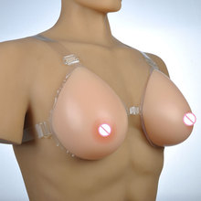 Shoulder Strap 500g 600g 800g Fake Breasts Silicone Cancer Breast Prosthesis False Boobs For Mastectomy Crossdresser Shemale Use