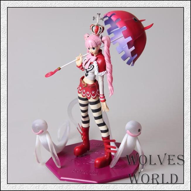 anime one piece Ghost princess Perona model pvc action figure classic collection toy doll 4parts sets super lovely chopper anime one piece model garage kit pvc action figure classic collection toy doll