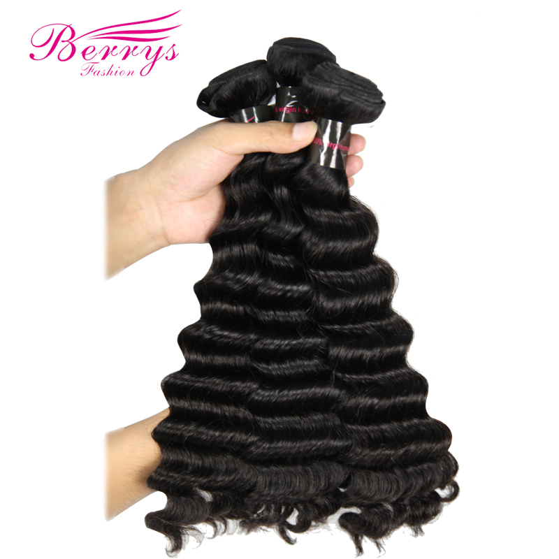 Berrys Fashion Brazilian Loose Wave Raw Virgin Hair Bundles Deals 3PCS Lot 100 Unprocessed Human Hair