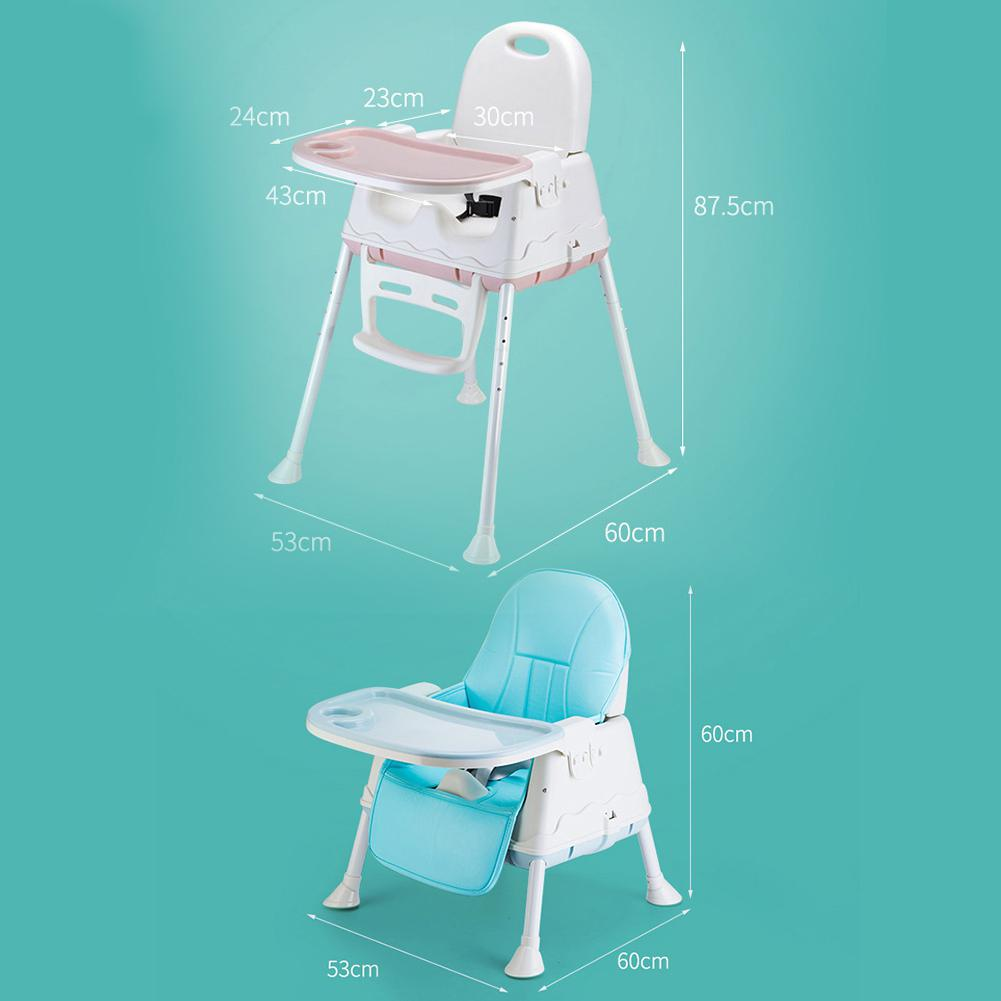 Multifunctional Adjustable Safety Dining High Chair