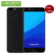"Leagoo M7 3G Smartphone 5.5 ""HD IPS 1 GB RAM + 16 GB ROM Android 7.0 Quad Core 1280×720 8MP 3000 mAh D'empreintes Digitales Déverrouillé Les Téléphones Cellulaires"