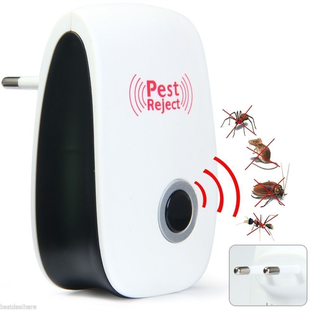 Free Shipping !!! Multi-Purpose Electronic Ultrasonic Mosquito Killer Reject Bug Mosquito Cockroach Mouse Killer Repeller ultrasonic pest repeller electronic mouse control tool