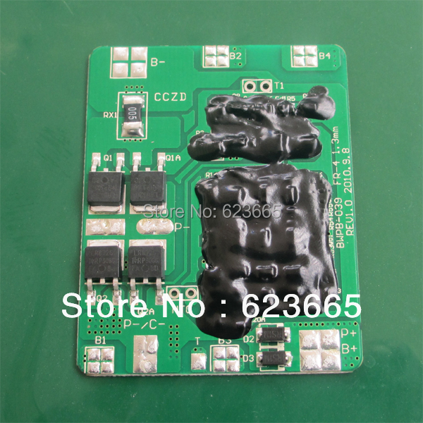 Free Shipping 4S 12.8V <font><b>LiFePO4</b></font> <font><b>battery</b></font> BMS 12V 10A BMS Used for <font><b>lifepo4</b></font> <font><b>3.2V</b></font> 18650 4S <font><b>battery</b></font> Pack image