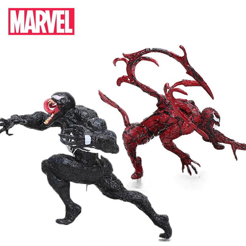 14.5-27cm Marvel Toys Iron Studios The Spiderman ARTFX + STATUE 1/10 Scale PVC Action Figure Venom Carnage Collectible Model Toy(China)