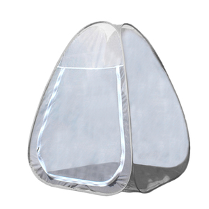 Image 2 - Buddhist Meditation Tent Single Mosquito Net Tent Temples Sit in Free standing Shelter Cabana Quick Folding Outdoor Camping Tent