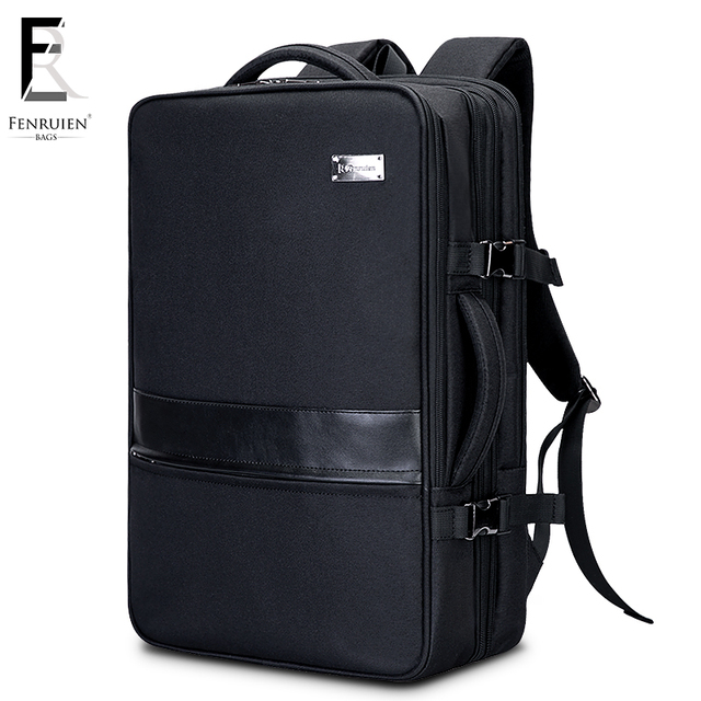 FRN Multifunction Business 17 inch Laptop Backpack Men Travel High Capacity Backpack Waterproof Male Women Mochila Anti Theft
