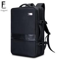 FRN Multifunction Business 17 inch Laptop Backpack Men Travel High Capacity Backpack Waterproof Male Women Mochila Anti Theft