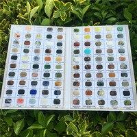 1 set Species Of NATURAL Mineral Samples Quartz Crystal Specimen Collection Box Natural Crystal Original Stone Rock Specimens