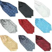 Buy Satin Ascot Tie And Get Free Shipping On Aliexpresscom