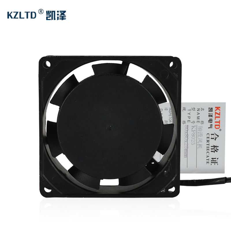SSR Solid State Relay Heat Dissipation  Fan KF8025 normally open single phase solid state relay ssr mgr 1 d48120 120a control dc ac 24 480v