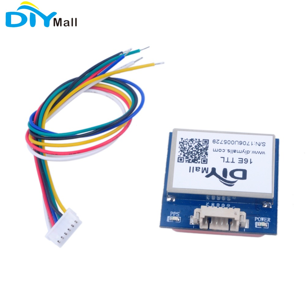 G28U7FTTL Replace VK16E GMOUSE GPS Module Ceramic Antenna TTL Level For Vehicle Monitoring Navigation