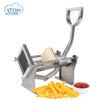 ITOP MH005 Manual Vegetable Slicer Potato Carrot Cucumber Cutter Stainless Steel Easy Control Horizontal type