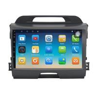 ChoGath 9 inch car Multimedia Player Quad Core 1024*600 Android 7.0 car radio KIA sportage r 2011 2012 2013 2014 2015 No Canbus