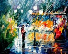 palette knife oil painting  modern oil painting canvas oil painting  K577