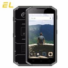 """D'origine EL W7 4G Mobile téléphone 5.0 """"HD Tactile Débloqué 16 GB ROM 1 GB RAM Étanche Téléphones IP68 Phare Robuste Smartphone Android"""