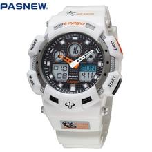 2016 Nueva PASNEW 100 m Impermeable deporte reloj de buceo hombres relojes deportivos relógio masculino reloj para hombre deportes