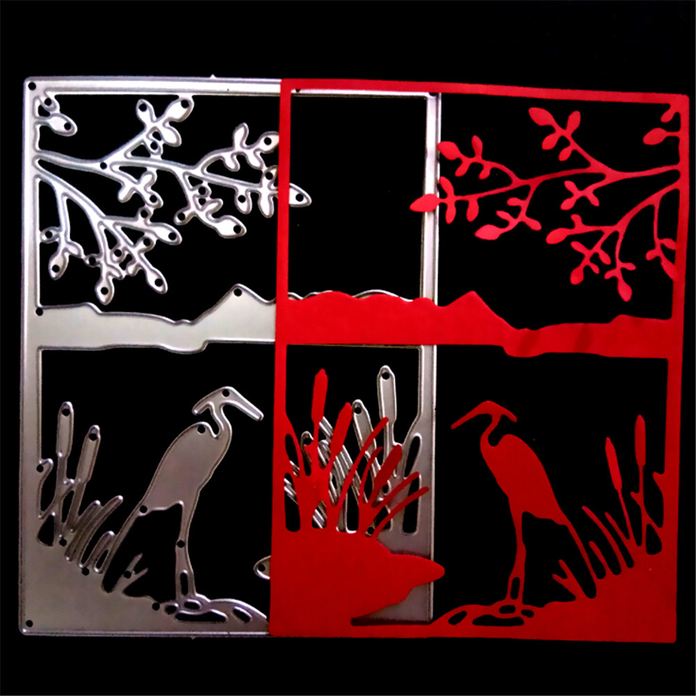 Metal Craft Cranes To Drink Paper Die Cutting Dies For Scrapbooking ...