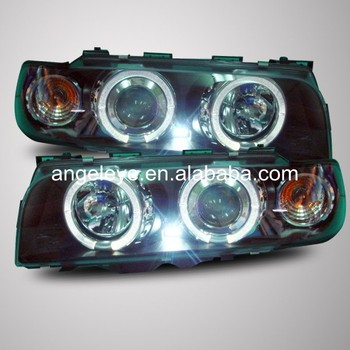 For BMW E38 728 730 735 740 750 Head Lamp Angel Eyes 1995 to 1998 year SN