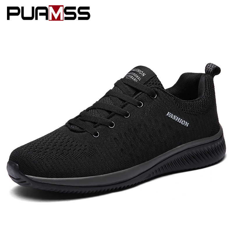 Men Sneakers New Men Running Shoes Lightweight Breathable Outdoor Mesh Walking Athletic Sports Shoes Men Zapatos De Hombre