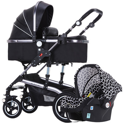 3 in 1 baby strollers high landscape baby car folding light baby strollers Free ship many color Factory sell yibaolai baby original hot mum baby strollers 2 in 1 bb car folding light baby carriage six free gifts send rain cover