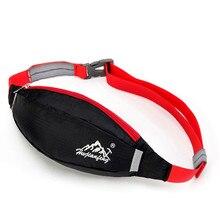 Спортивная поясная сумка для мужчин и женщин, черная и красная 22X12 см водонепроницаемая сумка на ремне для бега Талии Бум Сумка поясная Кемпинг Спорт Пеший Туризм пакет на застежке
