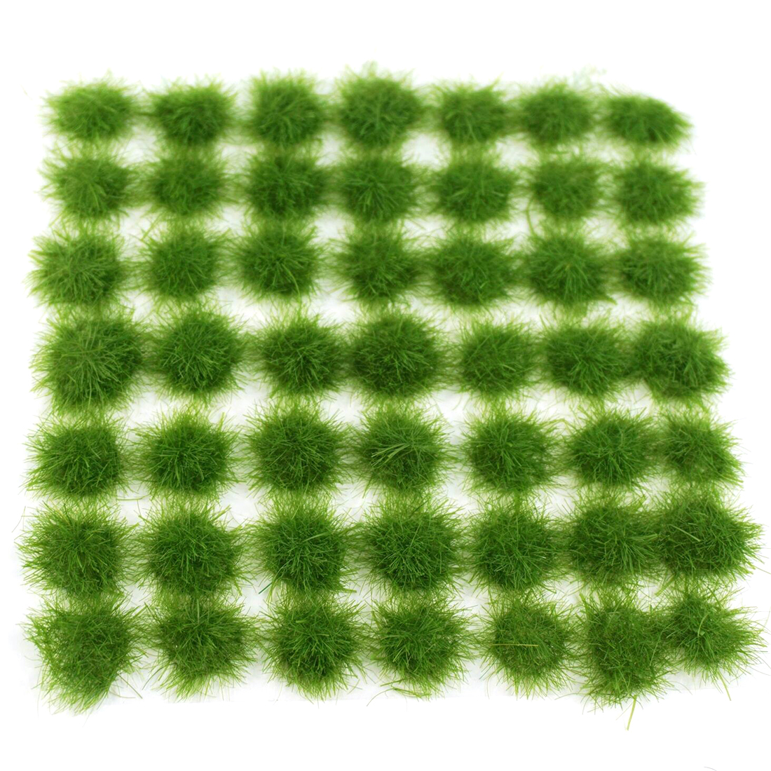 NFSTRIKE 1set Grass Cluster Static Grass Tufts For 1:35 1:48 1:72 1:87 Sand Table Architecture Model - Medium Green