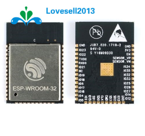 ESP32 ESP32S WIFI Bluetooth Modul 240 MHz Dual Core CPU MCU Drahtlose Netzwerkkarte ESP-WROOM-32 Basis Auf ESP-32S 2,2 V-3,6 V