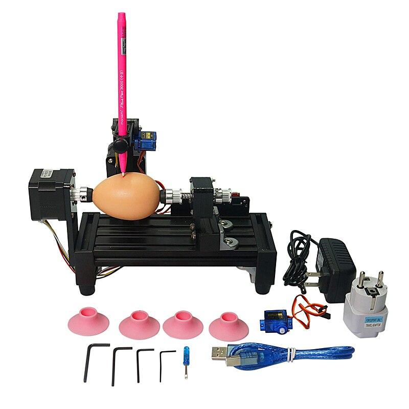 LY normale größe ei-zeichnung roboter eggdraw eggbot maschine kugeln ei ball zeichnung maschine für diy geschenk hausaufgaben hobby