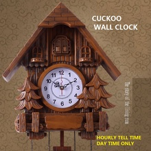 cuckoo clock Fashion living room wall clock 20inch alarm clock quality swing pocket watch modern brief